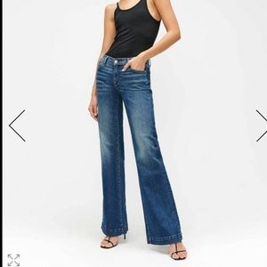 7 FOR ALL MANKIND Wide Leg High Waist Flare Jean